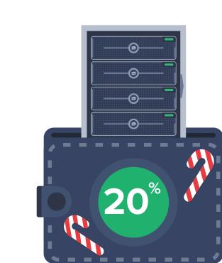 До 31 декабря: 20% от суммы в подарок — при заказе Сервера для бизнеса!