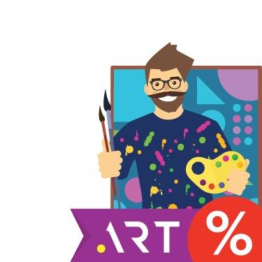 Для ценителей искусства: домен .ART за 399 рублей